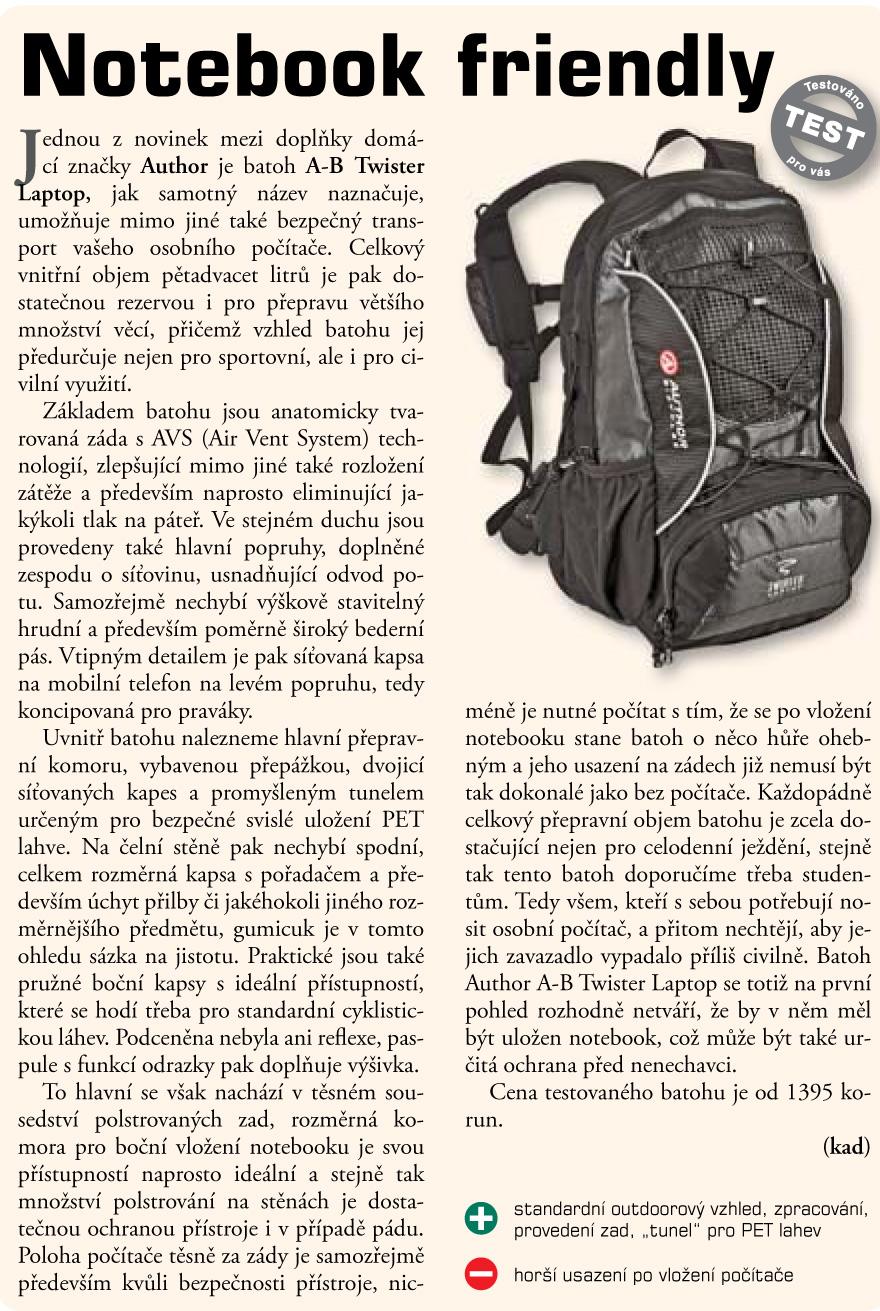 34223ca6aa5 Batoh A-B Twister Laptop (černá šedá) (UA 08100060) - UNIAG.biz ...